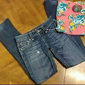 Rock Revival Deborah bootcut jeans size 27